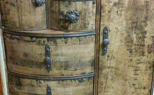don t be afraid of removing veneer, painted furniture, repurposing upcycling, woodworking projects