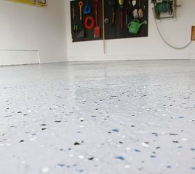 diy garage floor tutorial rocksolid diy flooring garages how to
