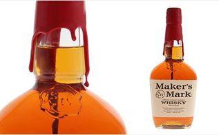 diy bottle of blood for your halloween bar, halloween decorations, seasonal holiday decor