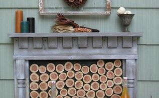 how to build a faux fireplace outdoor or indoor, diy, fireplaces mantels, how to, outdoor living, patio