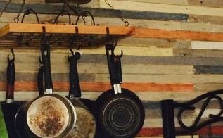 rustic kitchen on a budget, diy, kitchen design, pallet, repurposing upcycling, wall decor, woodworking projects