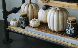 diy rustic pumpkins from faux orange to fabulous, crafts, home decor, seasonal holiday decor, DIY Rustic Pumpkins