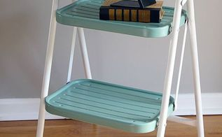 yard sale makeover with spray paint, painted furniture, repurposing upcycling