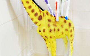 diy toy toothbrush holder, bathroom ideas, wall decor