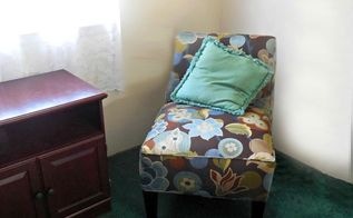 my reading corner make over before and after, home decor, painted furniture, wall decor