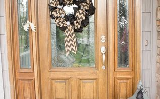 easy spooky halloween decorations for the front porch, halloween decorations, seasonal holiday decor