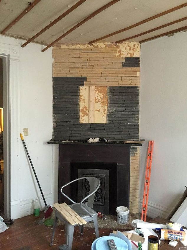$102 Fireplace Facelift