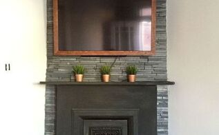 102 fireplace facelift, diy, fireplaces mantels, living room ideas