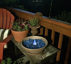 Diy Table Top Fire Bowl, Crafts, Outdoor Living