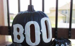 boo halloween pumpkin luminary, crafts, halloween decorations, seasonal holiday decor