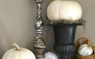 easy pumpkin topiaries, crafts, seasonal holiday decor
