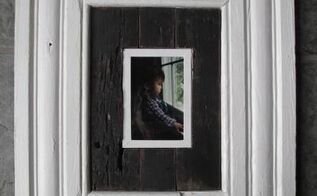 vintage molding and pallet wood frame diy, crafts, pallet, repurposing upcycling, wall decor