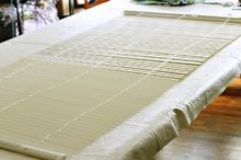 diy roman shade from mini blinds, diy, home decor, window treatments, windows