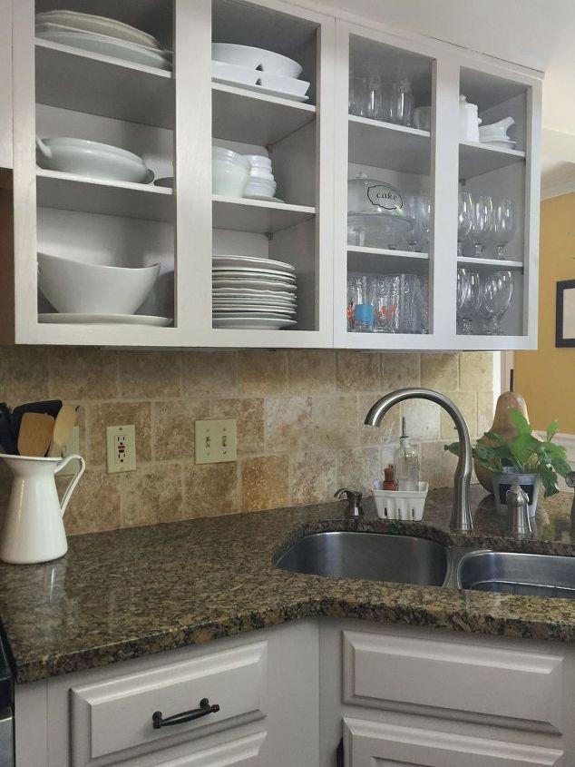 DIY Painted Kitchen Cabinets Hometalk - Diy kitchen cabinets