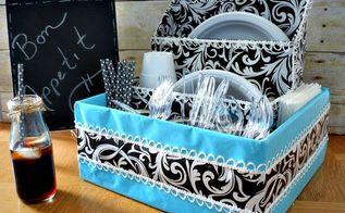 diy dish organizer, crafts, organizing