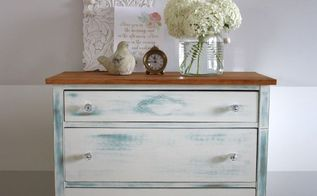 beeswax distressed dresser, painted furniture
