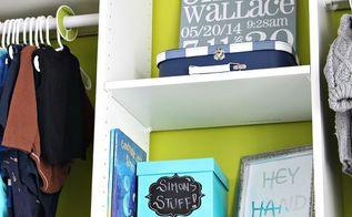 diy nursery closet details, bedroom ideas, closet, diy, home improvement, organizing, storage ideas