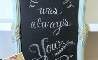 thrift store mirror to chalkboard trash to treasure tuesday, chalkboard paint, crafts, repurposing upcycling