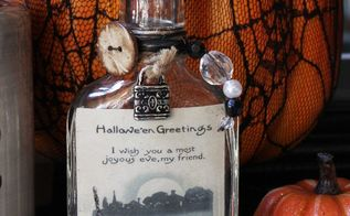 halloween vignette a decor challenge, halloween decorations, home decor, seasonal holiday decor