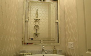 builder basic powder room to beautiful before after, bathroom ideas, home decor, small bathroom ideas