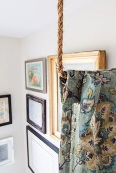 pipe dreams aka build a diy curtain rod in 10 minutes, repurposing upcycling, window treatments