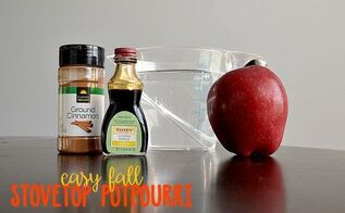 stovetop fall potpourri, cleaning tips, seasonal holiday decor