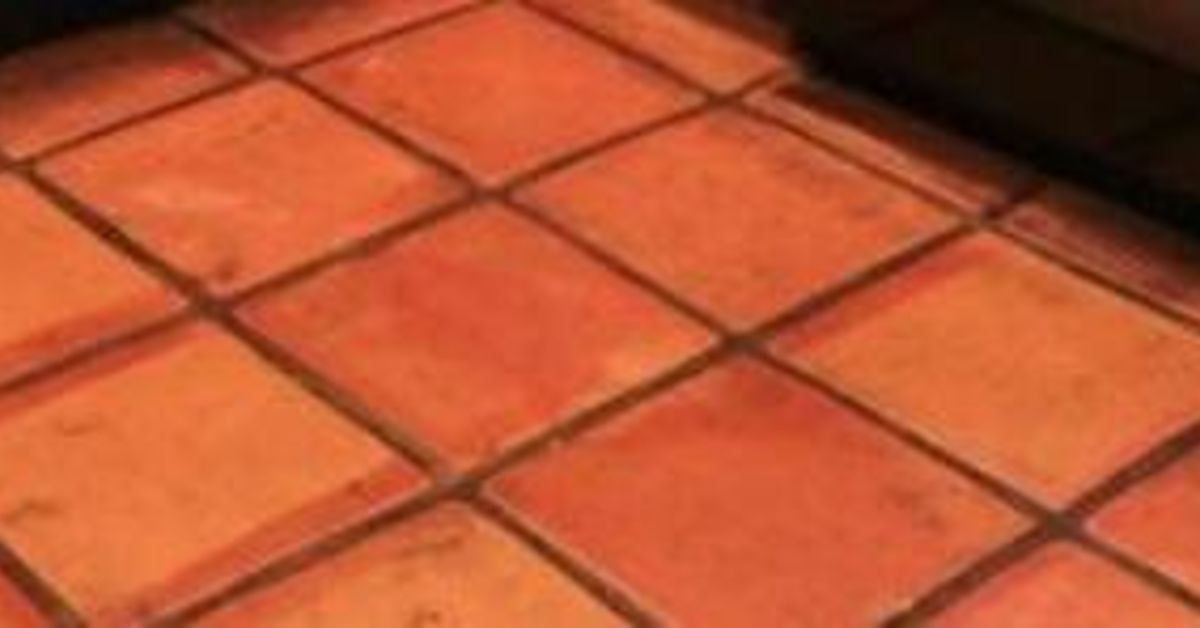 Cleaning saltillo tile hometalk for How to clean cement tile floors