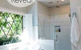 master bath makeover, bathroom ideas, diy, home decor, wall decor