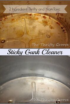 a simple and thrifty non toxic scrubbing cleaner recipe, cleaning tips