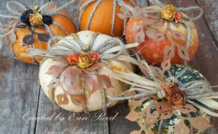decorative mini pumpkins, crafts, seasonal holiday decor