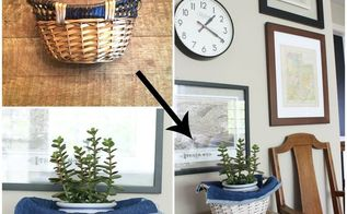 swap it like it s hot 4 bed springs and baskets, crafts, home decor, repurposing upcycling