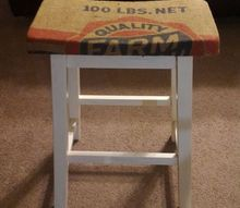 bar stool makeover, painted furniture