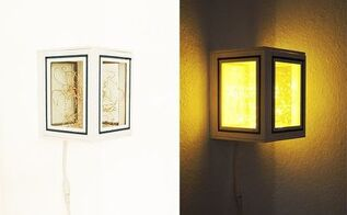 lamp out of picture frames, crafts, lighting, repurposing upcycling
