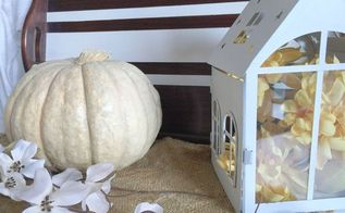 our fall vignette, crafts, seasonal holiday decor