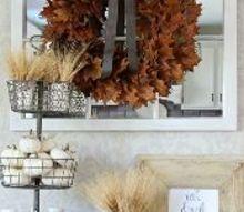 easy real oak leaf wreath, crafts, seasonal holiday decor, wreaths