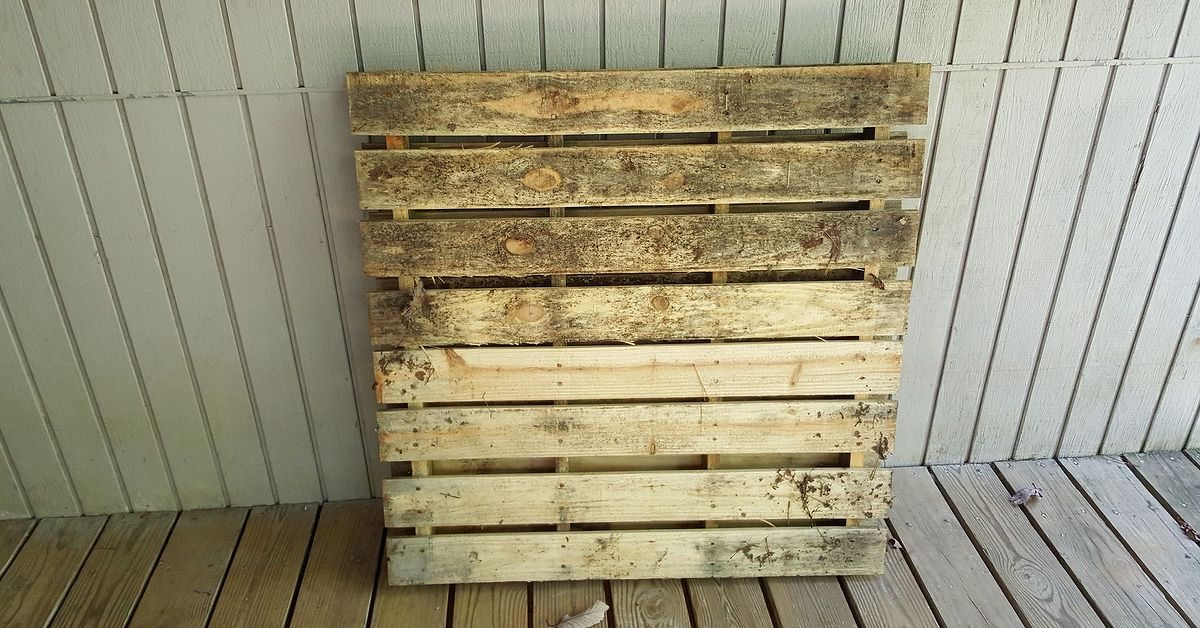 Pallet Sign And Garden Planter All In One Hometalk