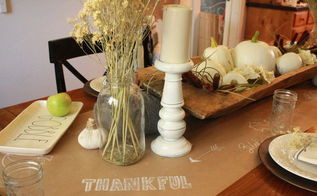create a family friendly fall tablescape, crafts, dining room ideas, seasonal holiday decor