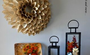 fall in the entry, chalkboard paint, crafts, seasonal holiday decor