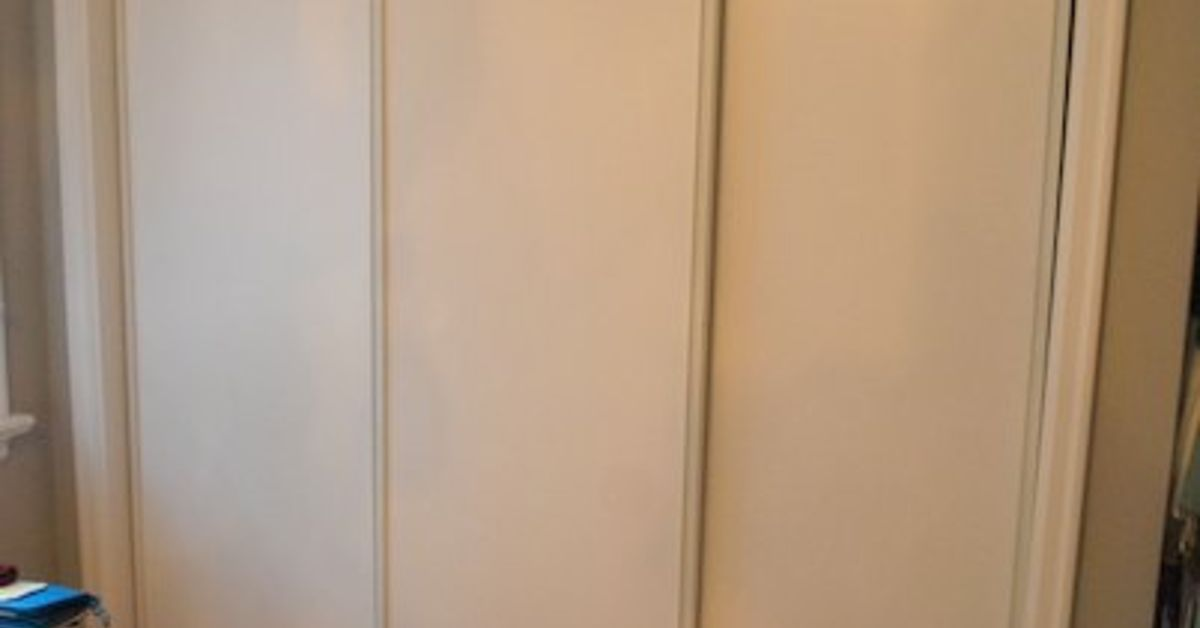 How To Paint Faux Trim On Closet Doors Hometalk