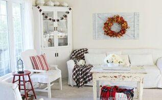 fall living room decor, home decor, seasonal holiday decor