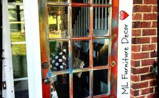 Repurposing An Old Door Hometalk