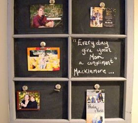an old window frame into a magnetic chalkboard chalkboard paint crafts