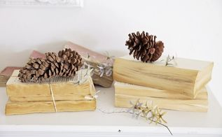 diy how to make new books look old, crafts, how to