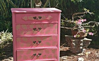 the coral branch dresser my entry for octfabflippincontest, painted furniture