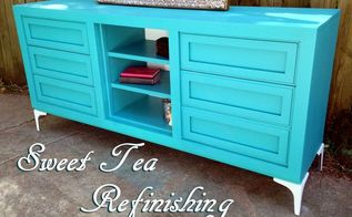 spray it pretty a thomasville steal in teal, painted furniture