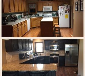 From Kitchen Island To Peninsula Kitchen Remodel, Home Improvement, Kitchen  Design
