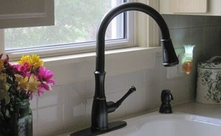 kitchen update new pfister faucet, diy, kitchen design, plumbing