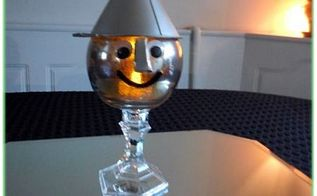 tin man candle holder, crafts, halloween decorations