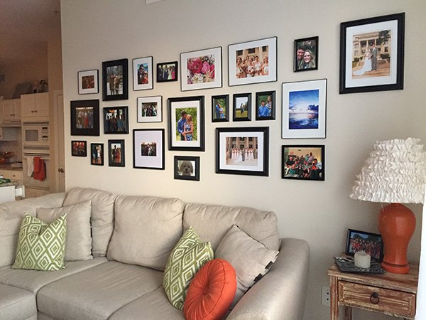 Living Room Gallery Wall Home Decor Ideas