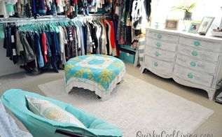 spare bedroom turned dressing room on a budget, bedroom ideas, closet, organizing